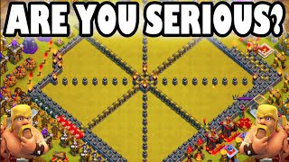 "getlinkyoutube.com-Clash of Clans - ARE YOU SERIOUS? ""ENEMY COMEBACK GAME STRONG!"" I Suck Ass At Clan Wars!"