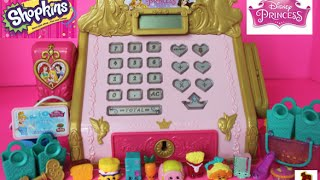 getlinkyoutube.com-Disney Princess Royal Boutique Cash Register with Shopkins Season3