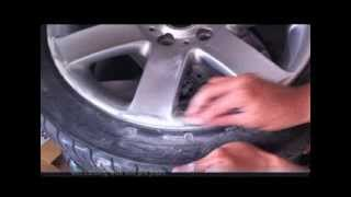 getlinkyoutube.com-How to repair and paint alloy wheels at home with spray cans (BMW 44s) PART 1