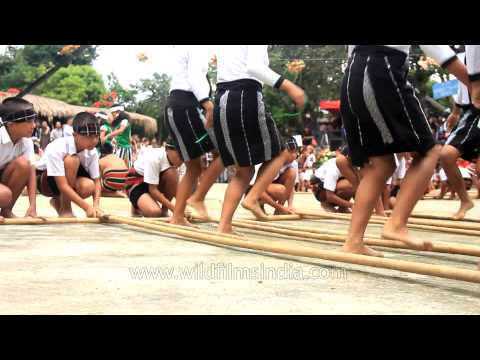 Cheraw dance: the traditional mass bamboo dance of Mizoram
