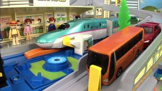 getlinkyoutube.com-トミカ プラレール TOMICA PLARAIL VIDEO 2012 PART 2/4