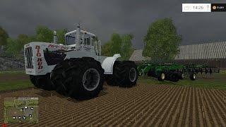 getlinkyoutube.com-Farm Sim Saturday Cutting silage the fastest we ever have