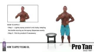 getlinkyoutube.com-How to Apply Posing Oil (Pro Tan®)