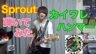getlinkyoutube.com-Sproutをベースで弾いてみた!カイワレハンマー Bass Cover!【たいぽん】
