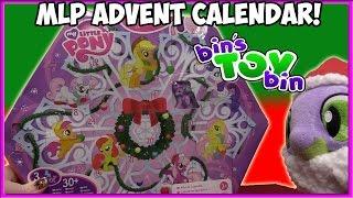 getlinkyoutube.com-Opening the ENTIRE My Little Pony Advent Calendar From 2011!! | Bin's Toy Bin