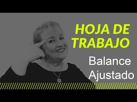 68. La Hoja de Trabajo: Balance Ajustado_ ElsaMaraContable