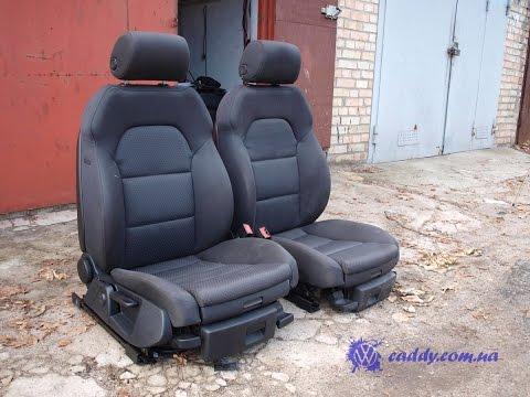 (AA6-2) Audi A6 Sport - передние сиденья