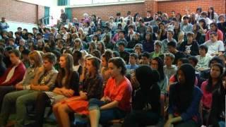 getlinkyoutube.com-Beckham's Surprise High School Visit