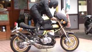getlinkyoutube.com-KAWASAKI H2 Kawasaki H1 マッハ 500改 750 zenshin ゼンシン カスタム