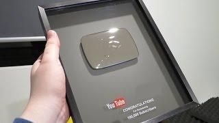 تحصلنا على درع من شركة يوتيوب #شكرا