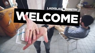WELCOME by Ladislas & Dimitri | Performance Video | Cardistry Touch