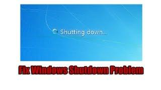 getlinkyoutube.com-Fix Windows Shutdown Problem