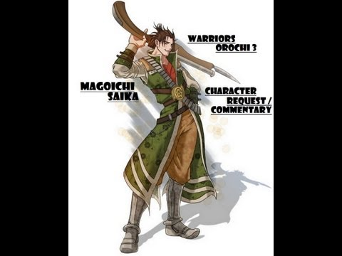Warriors Orochi 3 - Magoichi Saika (Normal)