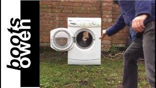 Brick in washing machine