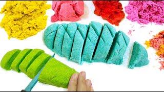 getlinkyoutube.com-DIY KINETIC SAND | EASY DIY Sensory Toys for Kids