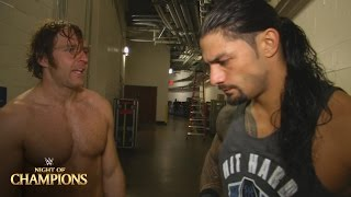 getlinkyoutube.com-Roman Reigns & Dean Ambrose comment on their crushing loss: WWE.com Exclusive, Sept. 20, 2015
