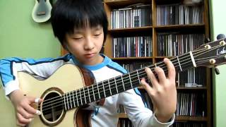 getlinkyoutube.com-(The Eagles) Hotel California -  Sungha Jung (2009.2.16)