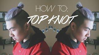getlinkyoutube.com-Men's Hair Tutorial: TOP KNOT // MAN BUN | ANHOPPA