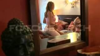 getlinkyoutube.com-Pregnant Couple In Bed