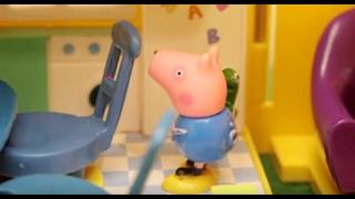 getlinkyoutube.com-Peppa Pig свинка Пеппа и ее семья. Мультфильм для детей. Одни дома
