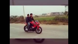 getlinkyoutube.com-Pulsar RS200 Stoppie