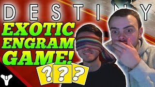 "getlinkyoutube.com-Destiny: ""EXOTIC ENGRAM GAME!"" 5 Exotic Engram Decoding! (Destiny Exotic Engram)"