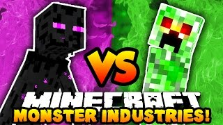 getlinkyoutube.com-Minecraft 3v3 MONSTERS INDUSTRIES WAR! (Buy Upgrades, Kill Players & Win!) with The Pack!