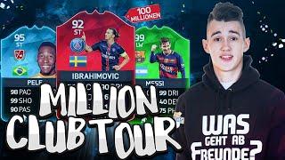 getlinkyoutube.com-FIFA 16 100 MILLIONEN COINS CLUB TOUR! FIFA RECORD!!!
