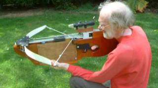 getlinkyoutube.com-Self Cocking Electric Cross Bow