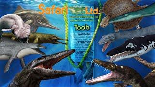 getlinkyoutube.com-Safari Ltd. || Prehistoric Sea Life Toob || Unboxing and Review