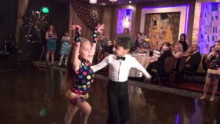 getlinkyoutube.com-Kids dancing cha cha, rumba, jive, and samba