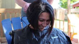 getlinkyoutube.com-Family Head Shaving In Support of our Sister