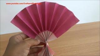 getlinkyoutube.com-How to make a Chinese / Japanese fan easily .....
