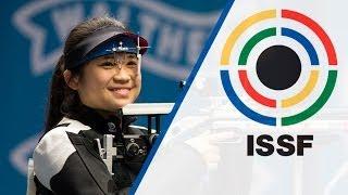 getlinkyoutube.com-10m Air Rifle Women Final - ISSF World Cup in all events 2014, Munich (GER)