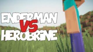 getlinkyoutube.com-ENDERMAN VS HEROBRINE | Zarcort Ft. Deigamer