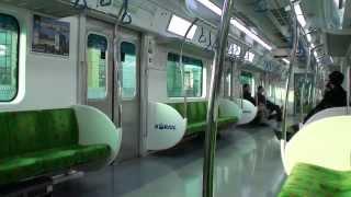 getlinkyoutube.com-2013.11.4 KORAIL京春線 光云大行き一番列車 車窓・車内の様子(上鳳→光云大)