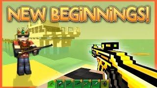 getlinkyoutube.com-NEW BEGINNINGS! | Pixel Gun World - Ep. 1