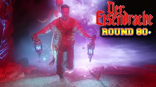getlinkyoutube.com-80+ HIGH ROUNDS - BLACK OPS 3 ZOMBIES DER EISENDRACHE GAMEPLAY STRATEGY! (BO3 Zombies)