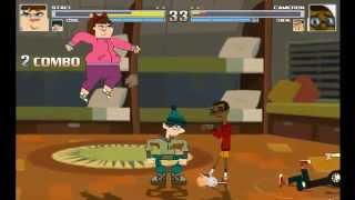 getlinkyoutube.com-Total Drama Fighters - Gameplay! (MUGEN)