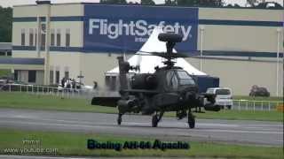 getlinkyoutube.com-Boeing AH-64 Apache Helicopter & Super Hornet At Farnborough Air Show 2012