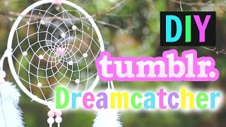getlinkyoutube.com-DIY Tumblr Dreamcatcher Tutorial!! | Gillian Bower
