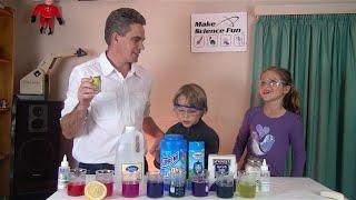 getlinkyoutube.com-Acid Base Magic Trick Purple Cabbage Indicator - Make at home – Make Science Fun