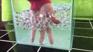 getlinkyoutube.com-Invisible Water Polymer Balls