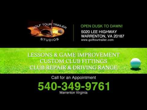 TaylorMade Demo Day working with golfers Warrenton VA | Golf Tour Trailer | 540-349-9761