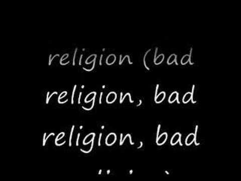 Bad Religion En Español de Godsmack Letra y Video