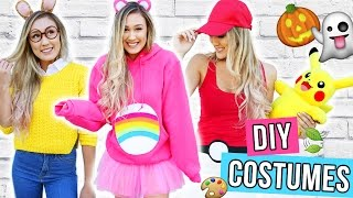 getlinkyoutube.com-DIY HALLOWEEN COSTUMES FOR TEENS 2016 | LaurDIY