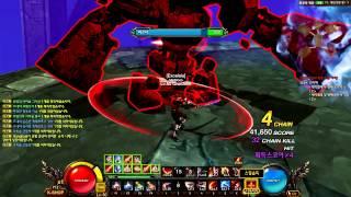 getlinkyoutube.com-[Kritika Online] Lv60 Raging Berserker Gameplay - Lv60 Dungeon 천공의 계단