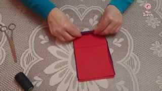 getlinkyoutube.com-Цветок из салфеток своими руками за 2 минуты