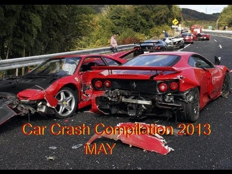 Car Crash Compilation 2013 May #2