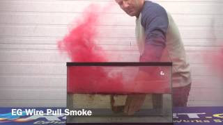 getlinkyoutube.com-Enola Gaye Wire Pull Smoke Grenade water ignition